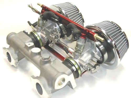 Midget fuel injection conversion