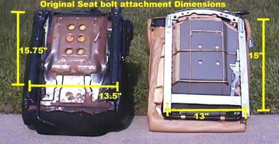 Spitfire Miata Seat Comparison Initial Mounting